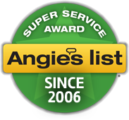 Angies List Super Service Award Since 2006