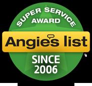 Angies List Super Service Award Since 2006